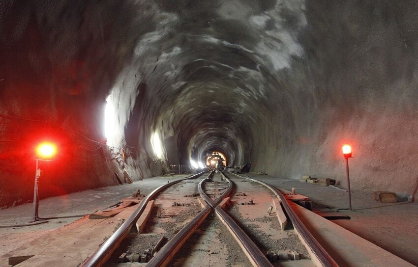 NEAT Gotthard Base tunnel