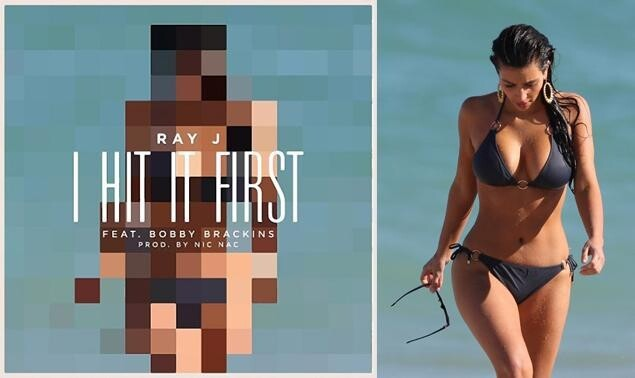 Ray J's cover for his new single 'I Hit it First'