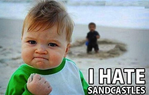 Screw Sandcastles, Victory Kid is too Cool for Those