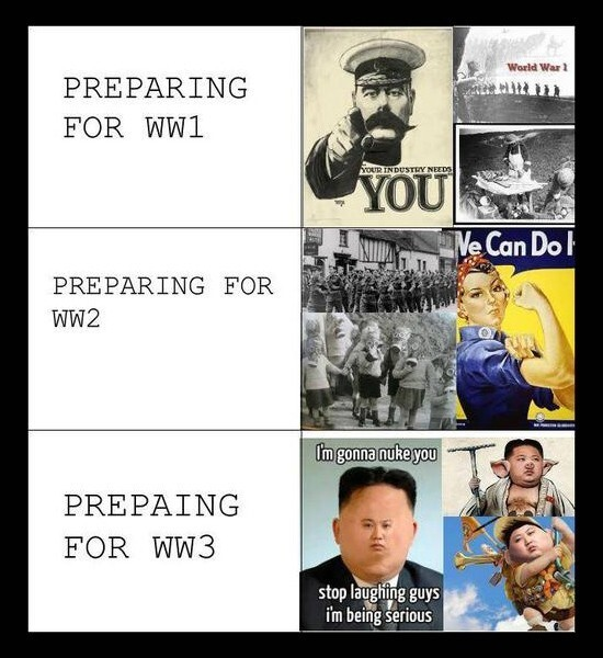 Preparing for war