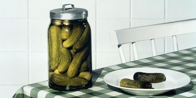 Introduced as a joke in a 1972 contest to choose a new mascot, the Fighting Pickles are now the official mascot at the N