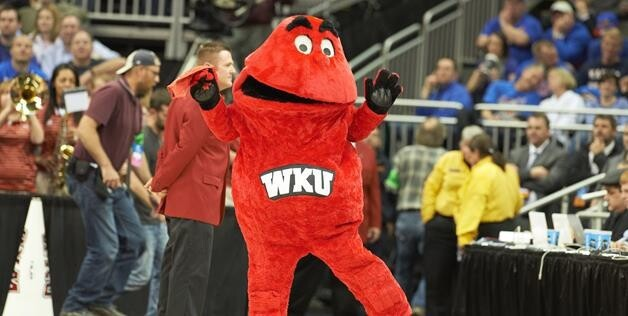 "The mascot of Western Kentucky is simply ""Big Red."""