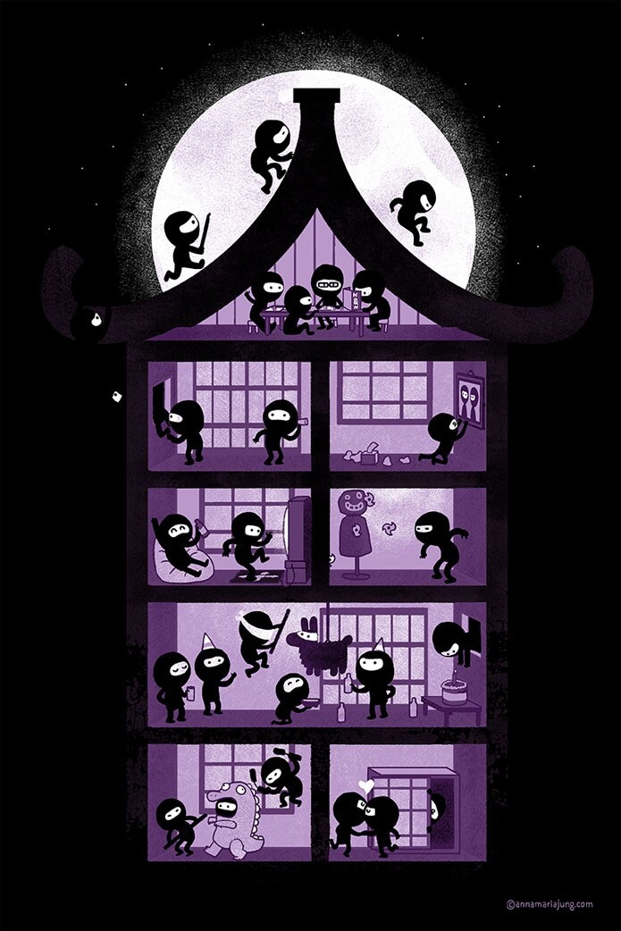 A House Full of Ninjas
