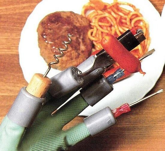 Multi-Purpose Eating Gloves