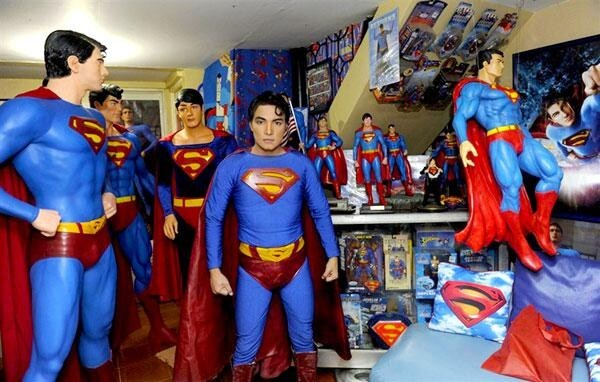 World's Most Obsessed Superman Fan