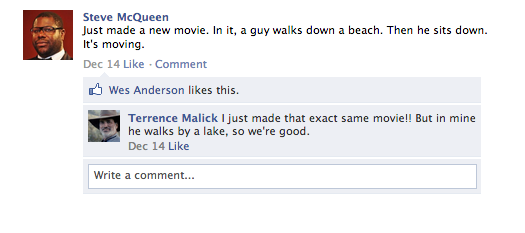 What If All Of Hollywood Was On Facebook?
