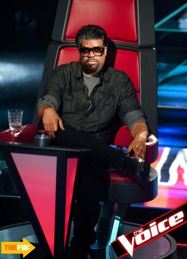 'The Voice' Judges Get Face Swapped