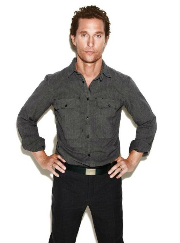 Matthew McConaughey's Got That Southern Swagger