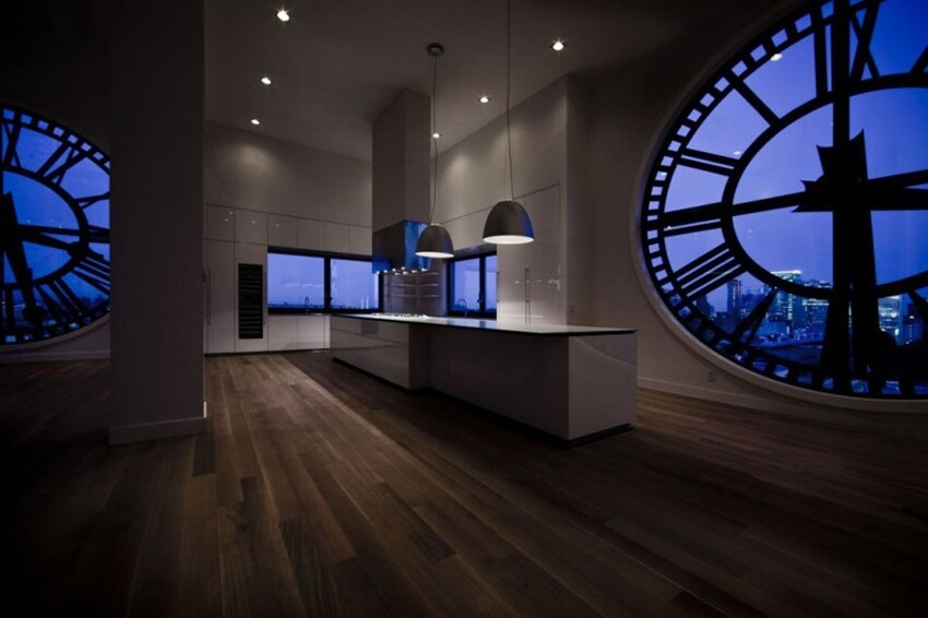 Old Clock Tower Transformed Into a Penthouse On Sale For $18 Million
