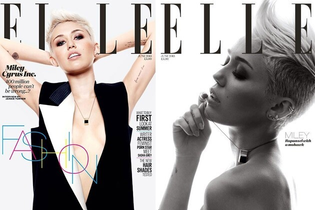Miley Cyrus Dishes to Elle UK About Life, Love and Liam