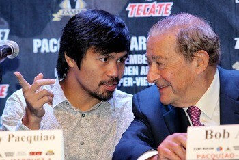 Bob Arum Fixed Pacquiao vs. Bradley