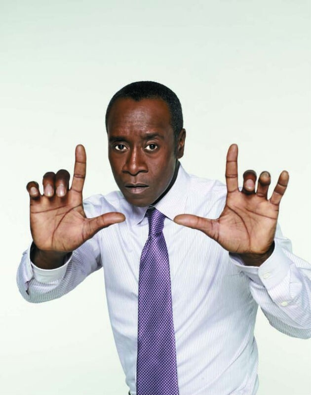 Don Cheadle Goes Heavy Metal and Heavy Sexy in 'Iron Man 3′