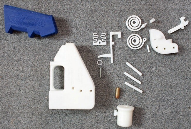 The First 'Fully' 3D-Printed Gun Had A Successful Test Firing