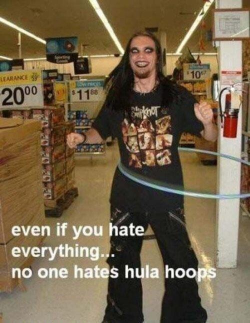 Everyone Loves Hula Hoops
