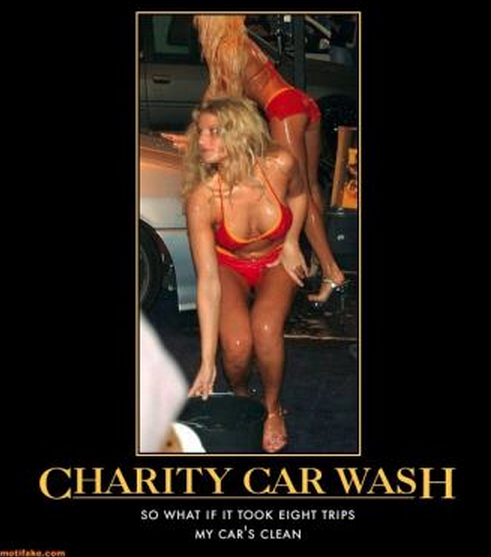 Sexy Charity Car wash