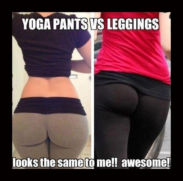 Yoga Pants Vs. Leggings