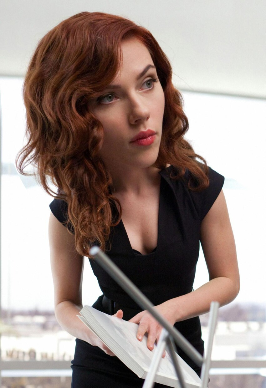 Photoshopped Celebrity Bobblehead: Scarlett Johansson