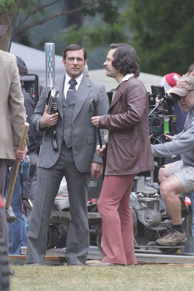 Amy Poehler, Tina Fey, and Liam Neeson on: 'Anchorman 2′