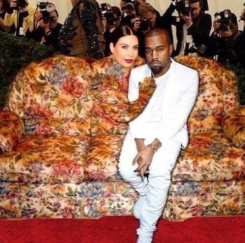 Kanye West Loves His Couch