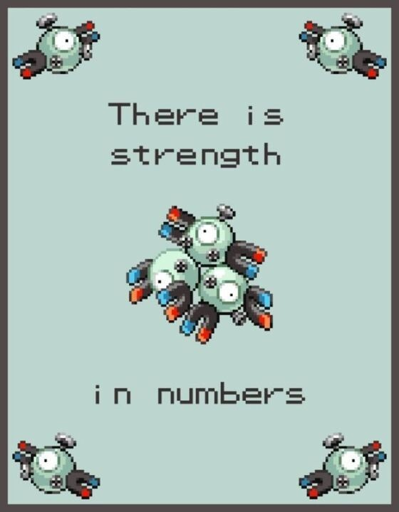 There is strength in numbers