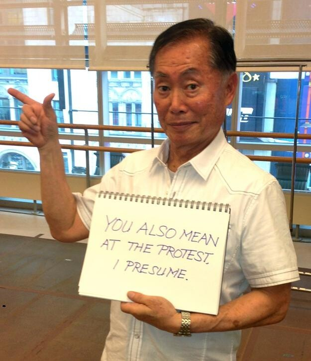 "Star Trek Star George Takei Responds to ""Traditional"" Marriage Fans"