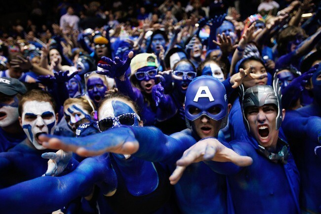 Duke Crazies Living Up to Their Name
