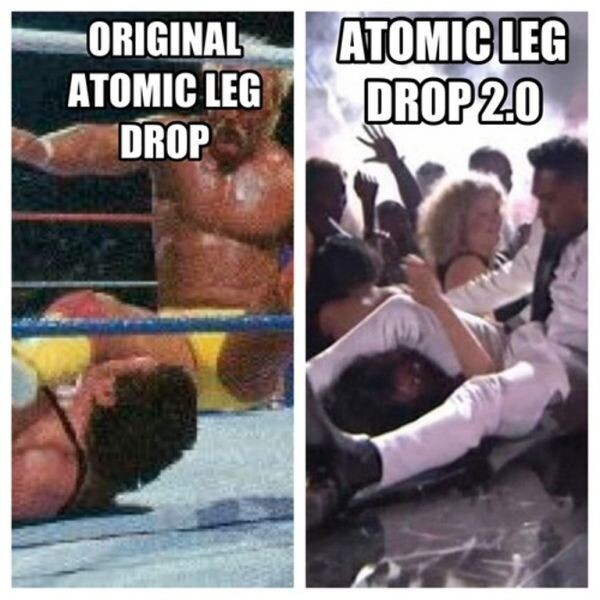 The Miguel Leg Drop Meme