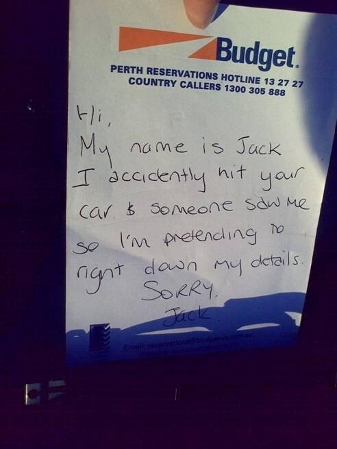 10 Ridiculous, Stupid And Funny Apology Notes.