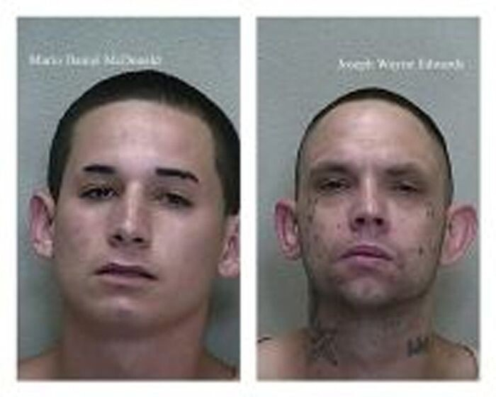 Part of their arrest referenced their use of Facebook to promote and further the interests of a criminal street gang.