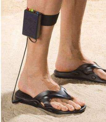 Treasure Finding Sandals with Built-In Metal Detector