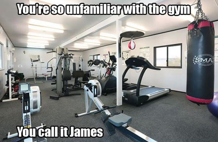 You call it James