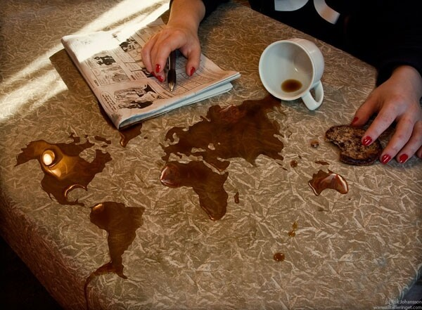"""Coffee Spill"""