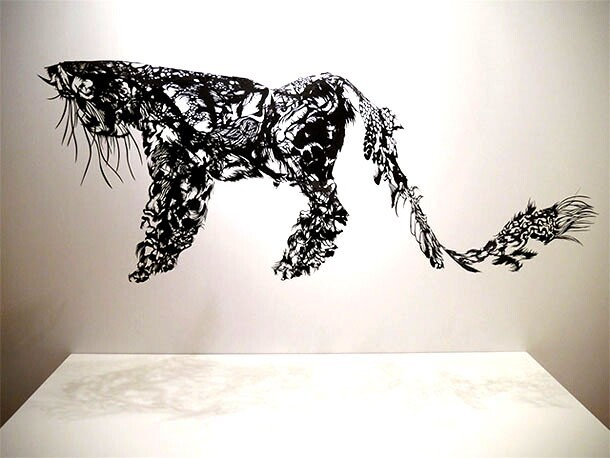 Outstanding Sculptures Cut From Sheets Of Paper | So Bad So Good