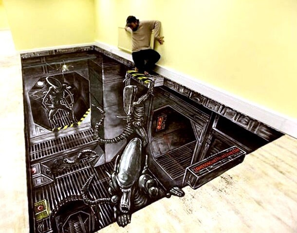 These Dazzling 3D Chalk Drawings Will Blow Your Mind