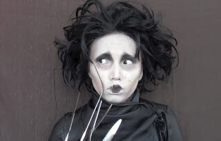 Promise as Edward Scissor Hands