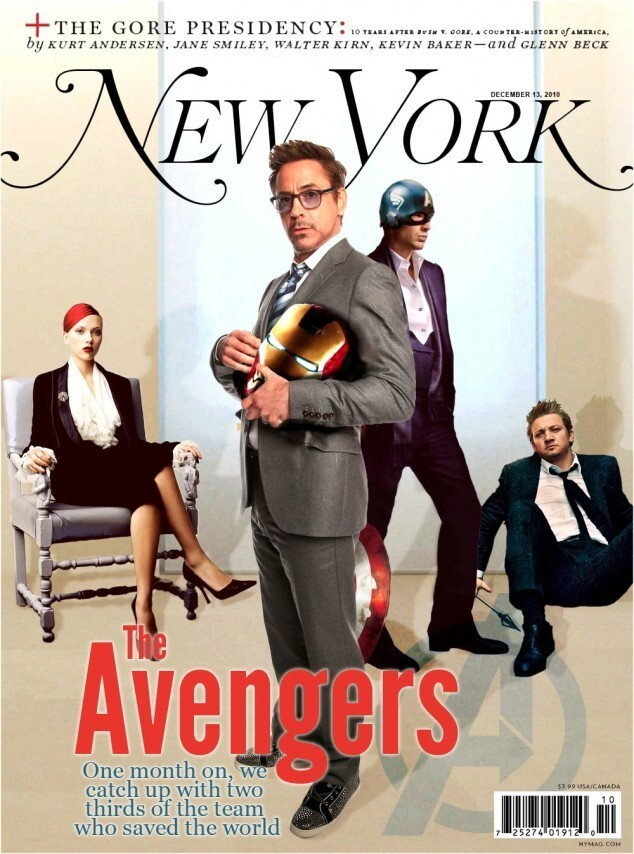 If the Avengers were real, what would magazine covers look like?