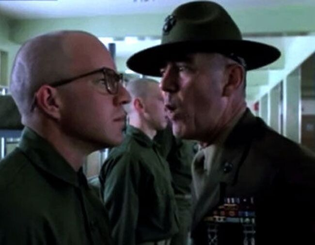 Drill Sergeant: Full Metal Jacket (1987)