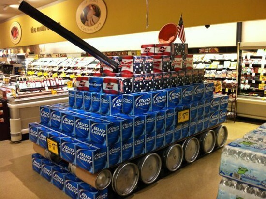 Bud Light Tank