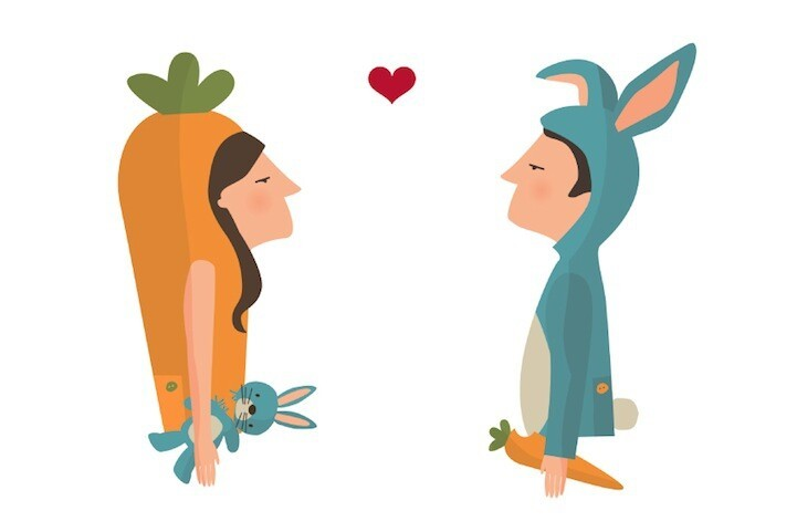 Adorable Love Illustrations Filled With Twists and Turns