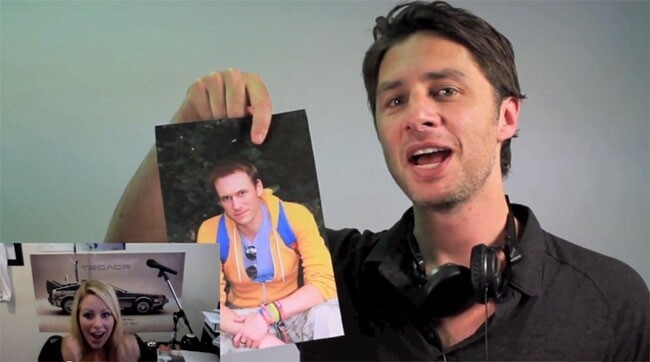 Zach Braff Helps A Guy Propose To His Girlfriend In Amazing Video