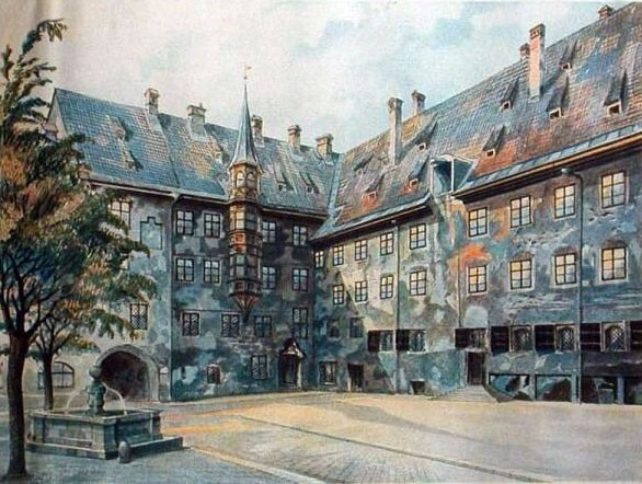 25 Rarely Seen Artworks Painted By Adolf Hitler