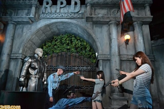 New Crazy Resident Evil Attraction At Universal Studios Japan!