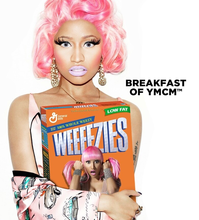 Rappers And Cereal Hilariously Melds Famous Rappears With Cereal