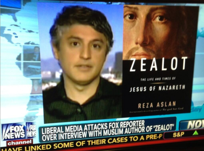 Fox News Pats Itself On The Back For Its Infamous Reza Aslan Interview