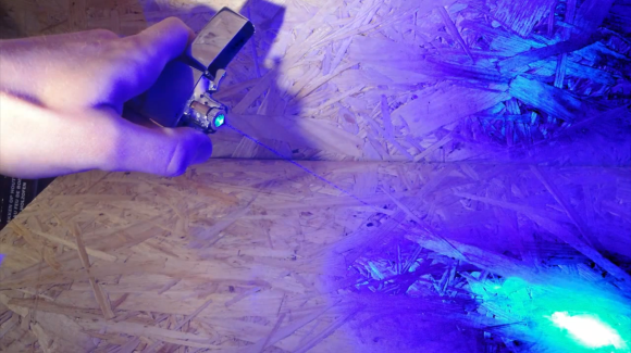 Laser cigarette lighter [video]