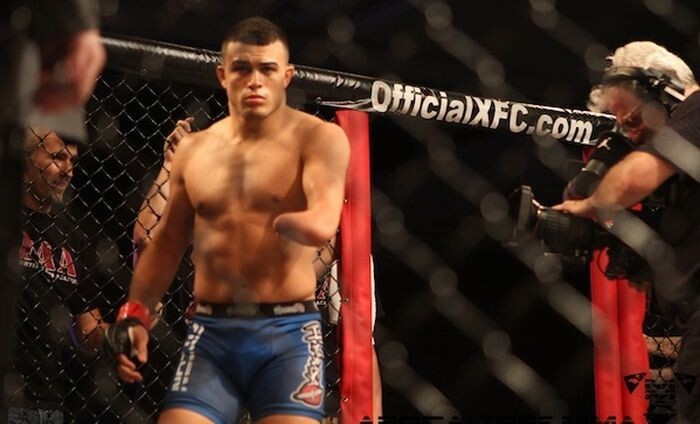 One-Armed Fighter Nick Newell