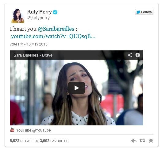 Katy Perry Accused of Copying Sara Bareilles Song + Fan Wars!