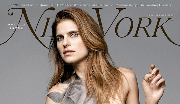 Lake Bell Is Naked On The New Cover Of New York Magazine