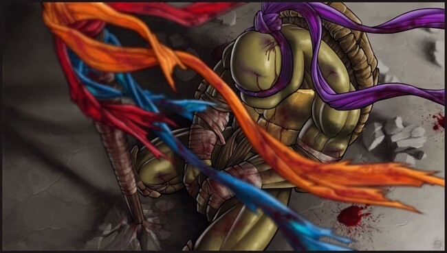The Saddest Teenage Mutant Ninja Turtles Fan Art You Will Ever See