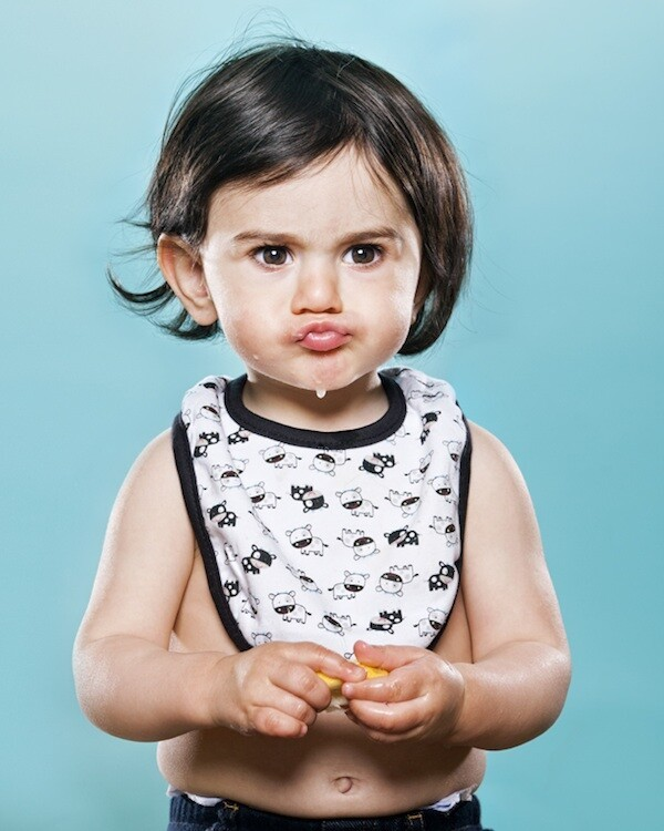 Adorable Series of Babies Sucking on Lemons for the Very First Time